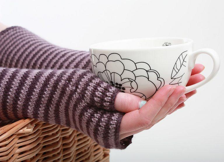 Woollen mittens by WildCat Designs